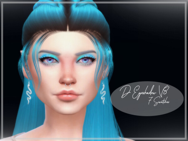 The Sims Resource: Eyeshadow V8 by Reevaly