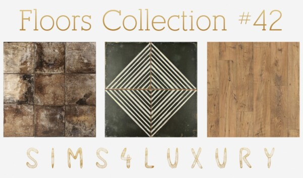 Sims4Luxury: Floors Collection 42