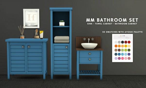 Leo 4 Sims: MM Bathroom Set