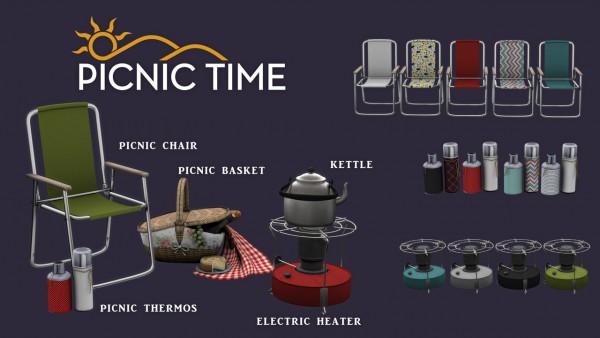 Leo 4 Sims: Picnic Time