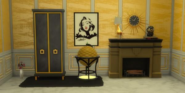 Mod The Sims: Modern Globe Bar by harlequin eyes
