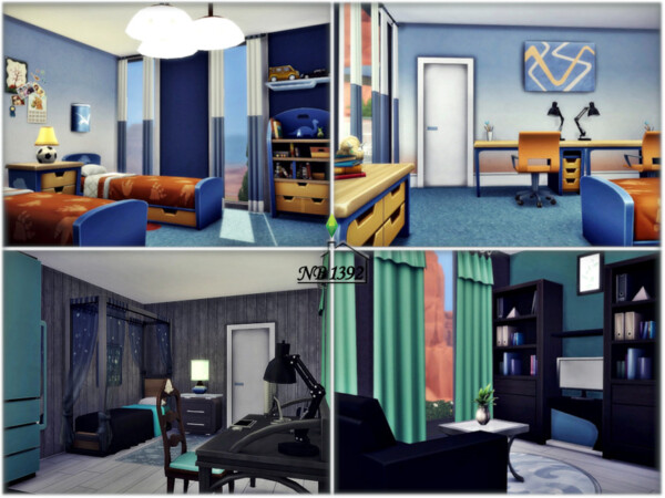 The Sims Resource: Dapper House no CC by nobody1392