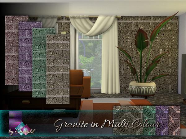 The Sims Resource: Granite in Multi Colour by emerald