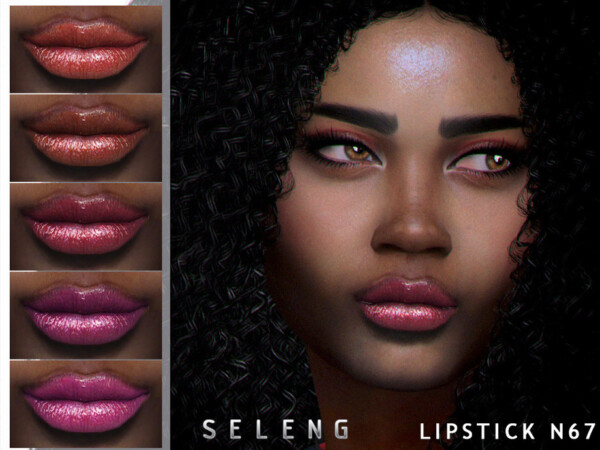 The Sims Resource: Lipstick N67 by Seleng