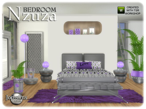 The Sims Resource: Nzuza bedroom by jomsims