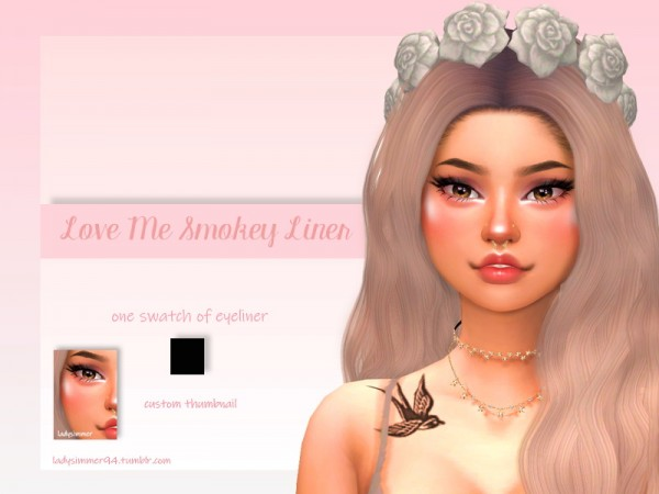 The Sims Resource: Smokey Liner by LadySimmer94