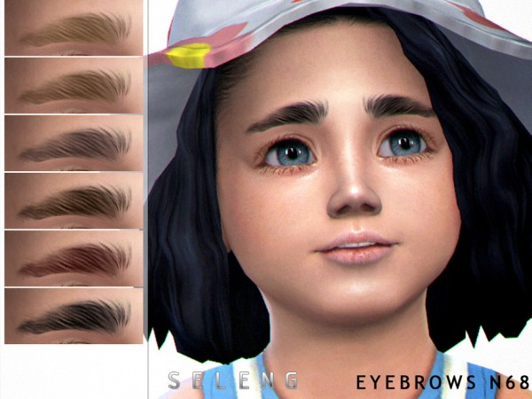The Sims Resource: Eyebrows N68 by Seleng