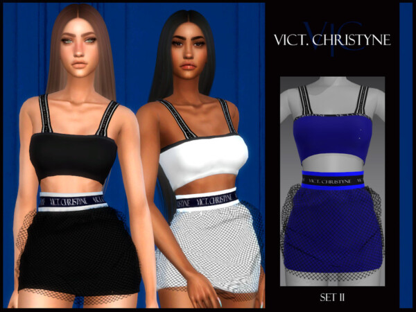 The Sims Resource: Set II   Vict, Christyne by Viy Sims