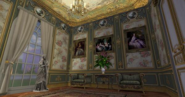 Regal Sims: Historical Living Set