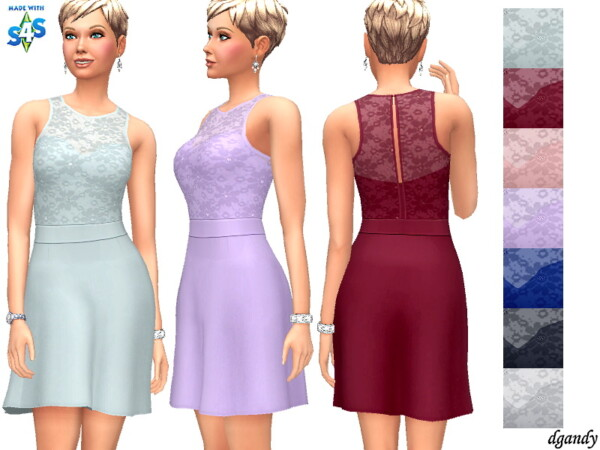 The Sims Resource: Dress 202006 16 by dgandy