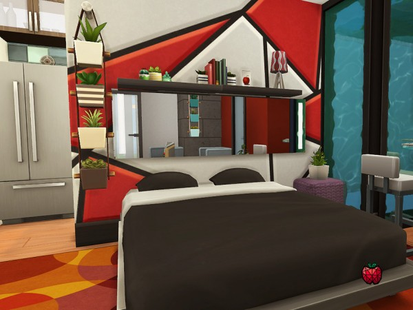 The Sims Resource: Charlie Micro Home   no cc by melapples