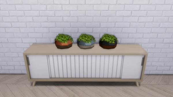 Modern Crafter: DIY Oxygen Triad Planter Seperated