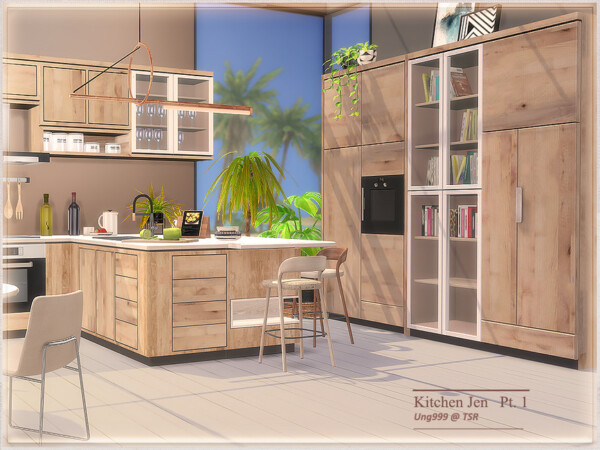 The Sims Resource: Kitchen Jen Part 1 by ung999