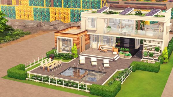 Aveline Sims: Eco Friendly Roommates House