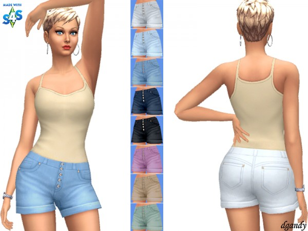 The Sims Resource: Shorts 20200603 by dgandy