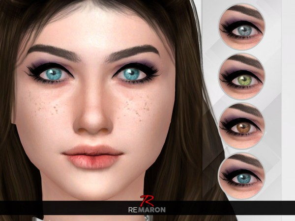 The Sims Resource: Realistic Eyes N10 by remaron