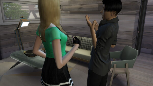 Mod The Sims: No Autonomous Sitting While Talking by TAESimme