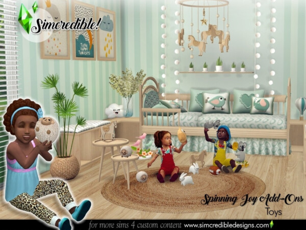 The Sims Resource: Spinning Joy Toys by SIMcredible!
