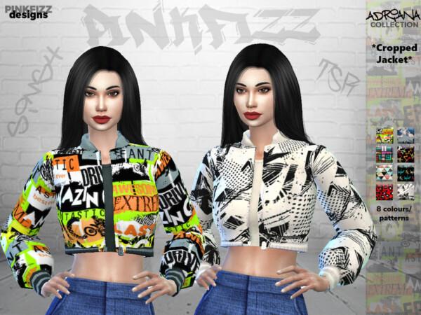 The Sims Resource: AdrianaJacket   PF110 by Pinkfizzzzz