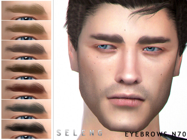 The Sims Resource: Eyebrows N70 by Seleng