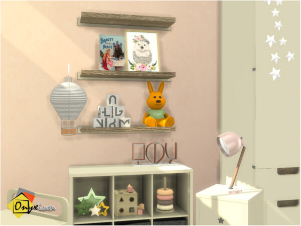 The Sims Resource: Starr Decoration Materials by Onyxium