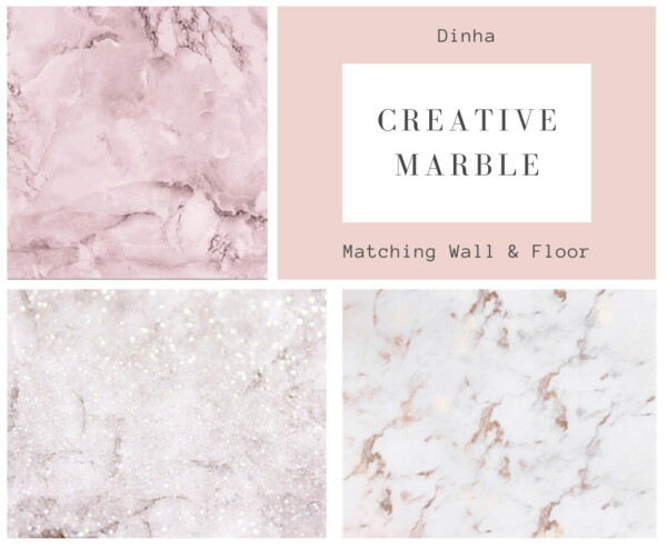 Dinha Gamer: Matching Walls and Floor   Creative Marble