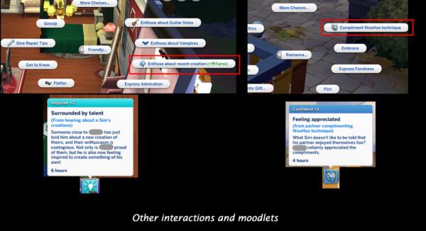 Mod The Sims: Contextual Social Interactions by Lumpinou