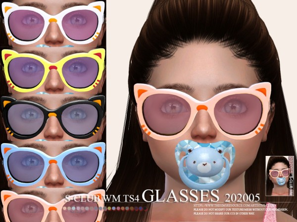 The Sims Resource: Glasses 202005 by S Club