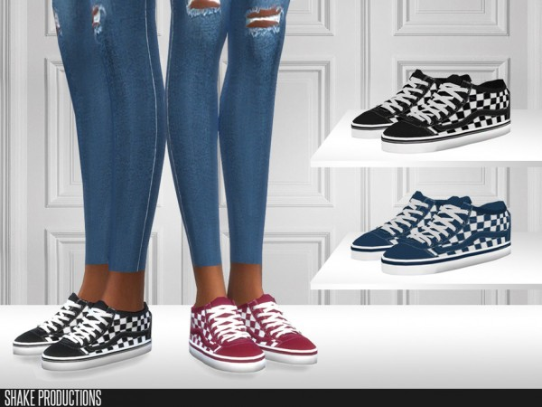 The Sims Resource: 446   Sneakers  by ShakeProductions