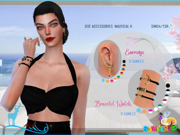 The Sims Resource: Accessories Nautical by DanSimsFantasy