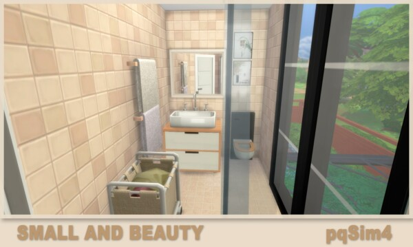 PQSims4: Small and Beauty House