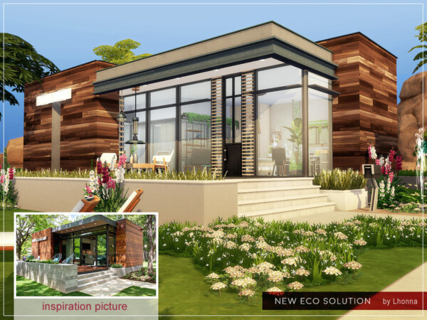 The Sims Resource: New Eco Solution House by Lhonna