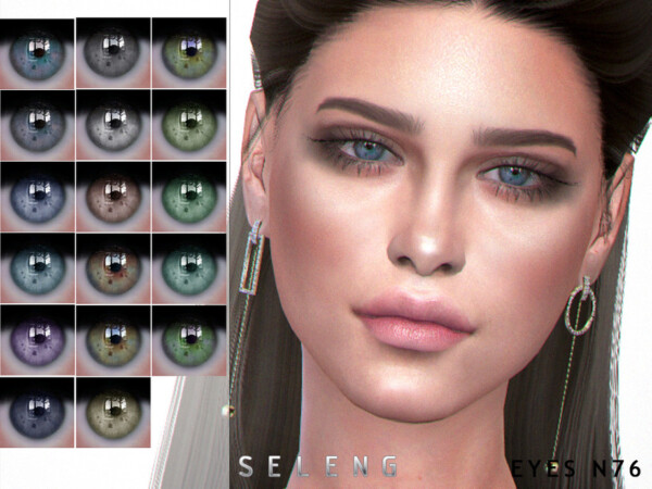 The Sims Resource: Eyes N76 by Seleng