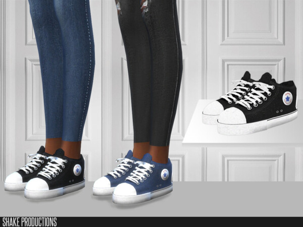 The Sims Resource: 455   Sneakers by ShakeProductions