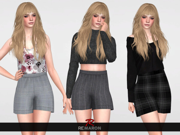 The Sims Resource: Shorts for Women 01 by remaron