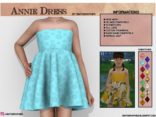 Simtographies: Annie Dress