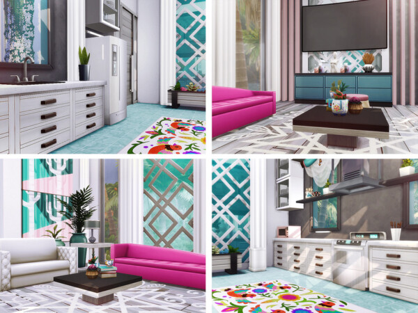 The Sims Resource: Lallie House by Rirann