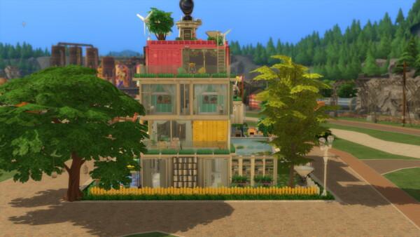 Mod The Sims: Rainbows House (No cc) by mamba black