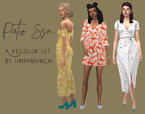 Simminginchi: Patio Dress