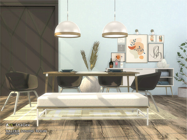 The Sims Resource: Valerie Dining Room by ArtVitalex