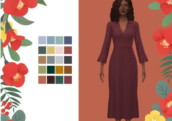Simminginchi: Louise dress recolored