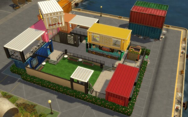 Mod The Sims: Container Bar by spablo