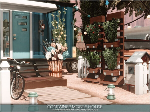 The Sims Resource: Container Mobile House by MychQQQ
