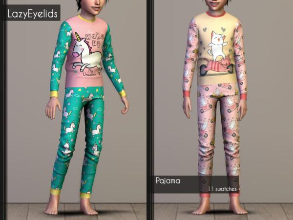 Lazyeyelids: Christmas matching pajamas recolored