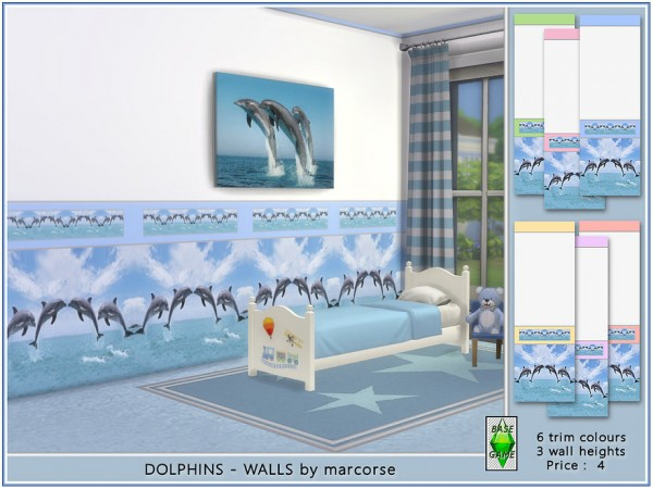 The Sims Resource: Dolphins   Walls by marcorse