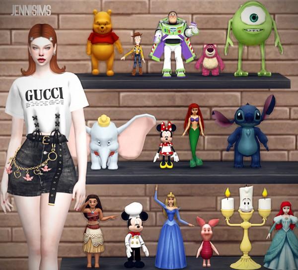 Jenni Sims: Decorative Disney 15 items
