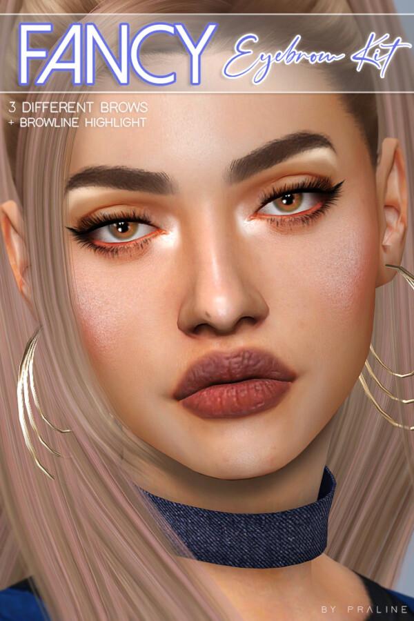 Praline Sims: Fancy Eyebrows Kit