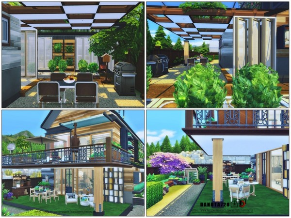 The Sims Resource: Fully Eco Estate by Danuta720