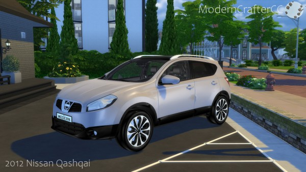 Modern Crafter: 2012 Nissan Qashqai