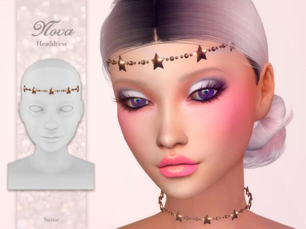 The Sims Resource: Nova Headdress by Suzue